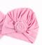 Mädchen Mütze festlich Übergangsmütze Sommermütze mit Perlen Weiß Rosa Grau