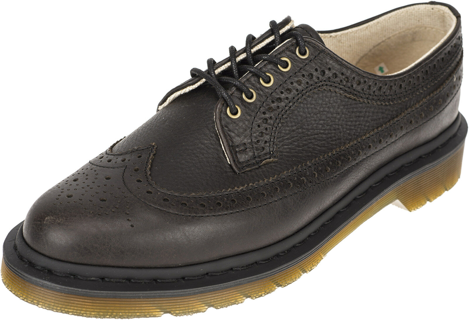Dr. Martens HARVEST 5-Eye Classic BROGUE 3989 CREEPER Halbschuhe Rockabilly