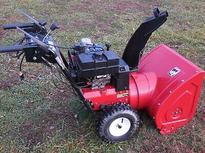 Toro Snow Blower 8hp 24 Inch Two Stage Electric Start Just Serviced Runs Good For Sale Online