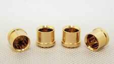 20 pcs Noise Stopper 24K Gold Plated Copper RCA Plug Caps Top Quality USA Fast