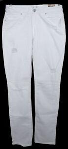 Womens-AEROPOSTALE-Bayla-Skinny-Destroyed-White-Jeans-size-9-10-R-NWT-0201