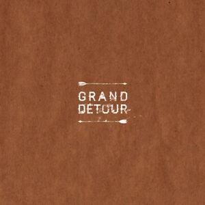 """Grand Détour-S/T 12"""" EP etched single sided LTD WHITE VINYL-NEUF & non utilisé"""