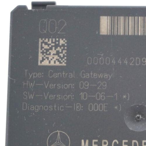 Mercedes W221 S A2219016900 A2219006702 A2219020802 Gateway Steuergerät ⭐⭐⭐⭐⭐