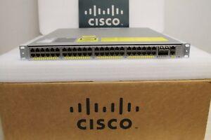 Cisco-Catalyst-4948-WS-C4948E-F-48-Port-L3-Gigabit-Switch-15-2-OS-Dual-AC