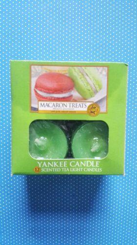 Yankee candle 12 tea light Macaron treats