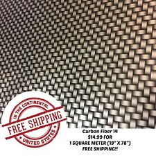 Hydrographic Water Transfer Hydro Dipping Dip Film Carbon Fiber 14 1sq 19x78