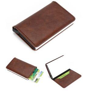 Kartenetui-Geldboerse-RFID-Schutz-Blocking-Kreditkartenetui-Geldbeutel-Kaffee-DE
