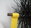 thumbnail 3 - CFC024 150mm/6 inch dia Black Polypropylene Flue Brush 200mm long