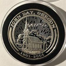 "/""Ichthus/"" John 3:16 1 oz .999 Copper Round A Beautiful Design"