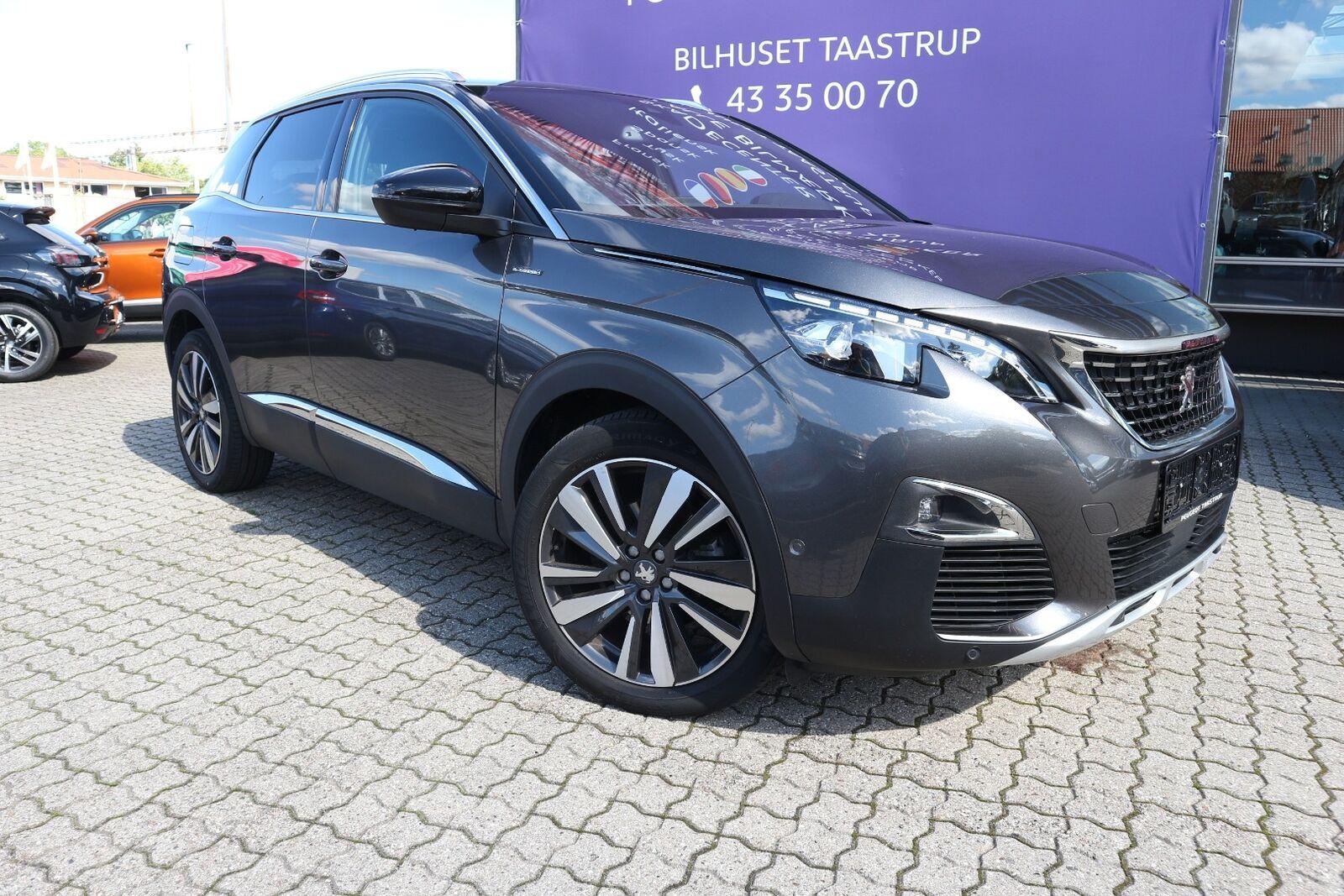 Peugeot 3008 1,5 BlueHDi 130 GT Line EAT8 5d - 339.900 kr.