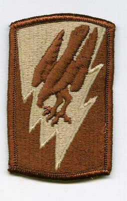ARMY 1st AVIATION BRIGDE PATCH SET OF 2 FULL COLOR//DESERT TAN:K7