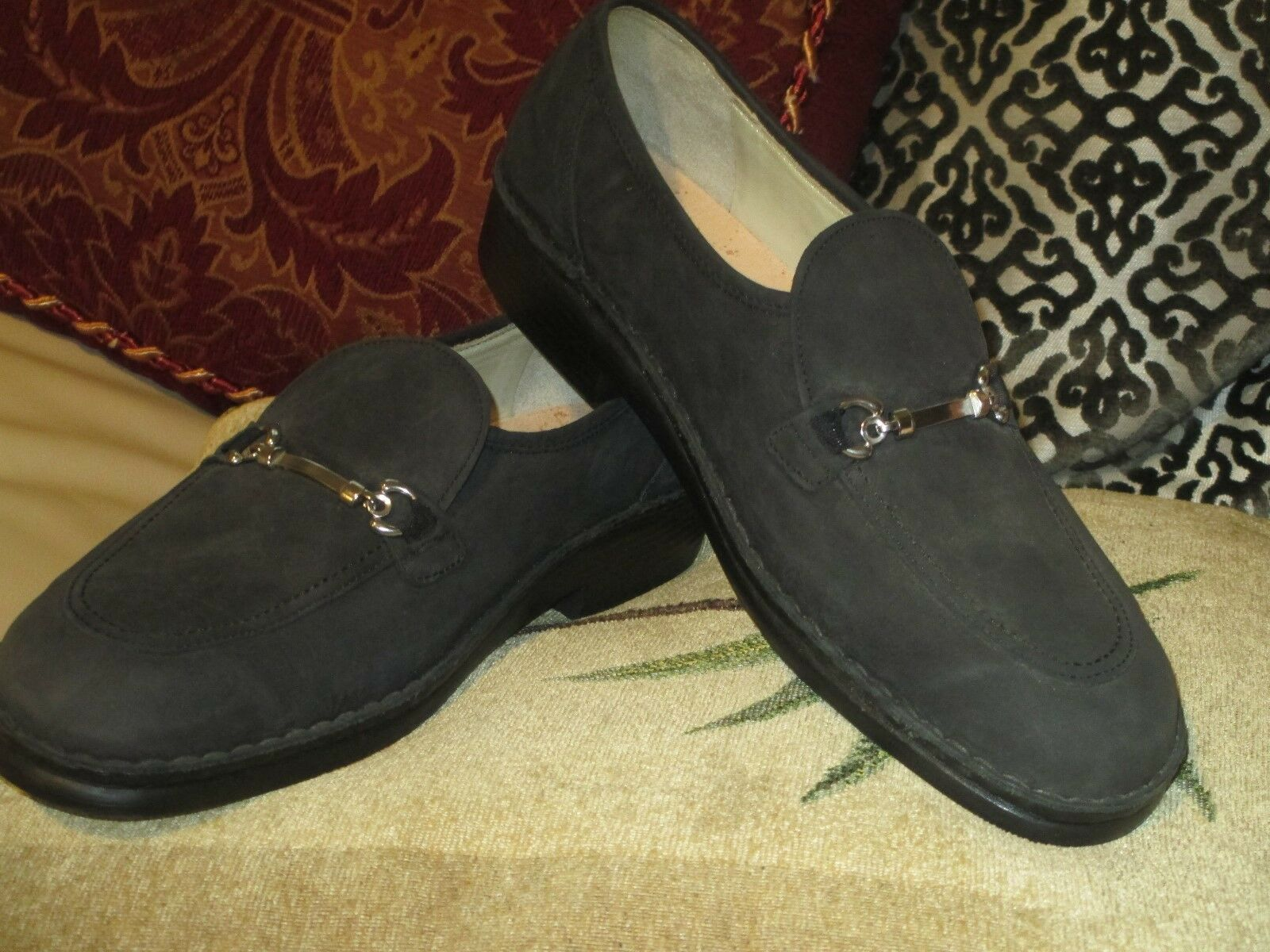 NEW FINN COMFORT BROWN LEATHER LOAFERS SIZE 7.5 MADE IN GERMANY