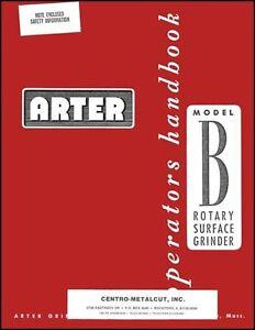 TAFT-PEIRCE 321 No 1 Surface Grinder Cat# 321 Operator/'s /& Part Manual 0717