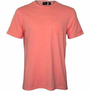 O'Neill Buben Basis Crew-Neck Herren T-Shirt w / Tasche, blass rosa