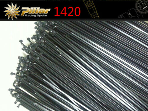 Pillar PSR Aero X-TRA1420 Spokes Straight Pull //J hook 14G with Nipples Radios