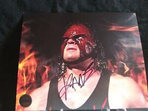 Pro-Wrestling-Crate-Exclusive-Kane-Autograph-8x10-WWF-WWE-NXT-AEW-WCW-ECW-ROH