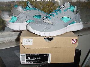 ab4e069f3dab Nike Air Zoom Huarache Free 2012+ Stealth Grey White Neptune Blue ...