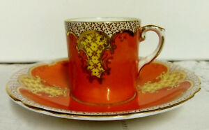 AYNSLEY C1900 CORAL PINK COFFEE CUP amp SAUCER PRE LOVED VERY GOOD CONDITION - Chester, United Kingdom - AYNSLEY C1900 CORAL PINK COFFEE CUP amp SAUCER PRE LOVED VERY GOOD CONDITION - Chester, United Kingdom