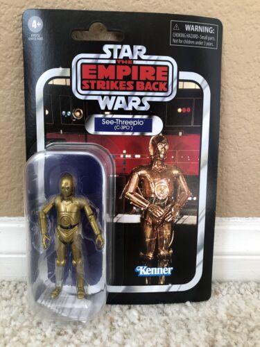 Star Wars See-Threepio C3PO Empire Strikes Back Figure 40th Anniversaire Vintage