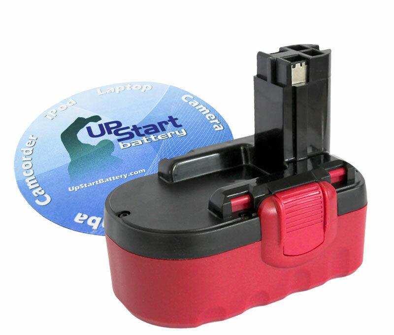 18V Battery for Bosch BAT181, 52318, GDR 18 V, 1644-24, 3453, GST 18 V 3300 mAh