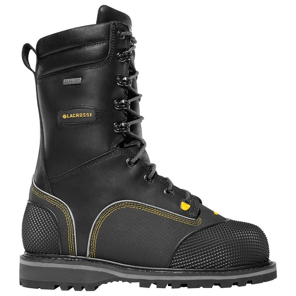 Lacrosse Longwall 10  200G Met NMT II CSA para Hombre botas De Minería  Nuevo de ancho