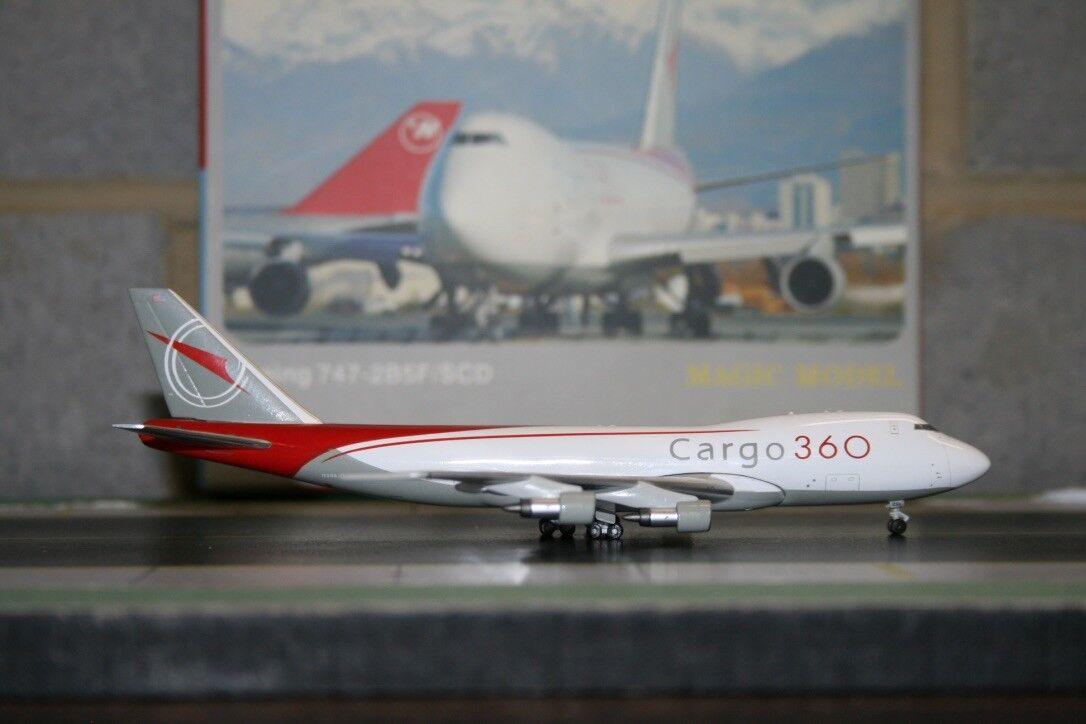 Magic Model 1 400 Cargo360 Cargo 360 Boeing 747-200F N298JD (MAG081) Model Plane