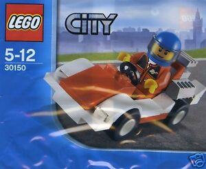 LEGO-CITY-Rennwagen-mit-Fahrer-30150