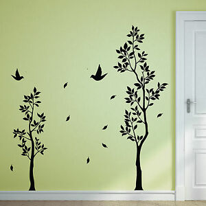 Twin-Tree-Birds-Wall-Stickers-Wall-Decals-Graphics