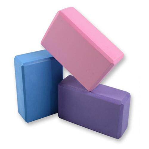 Yoga Block Brick Pilates Gym Foaming Foam Home Stretch Exercise Fitness Aid Deko