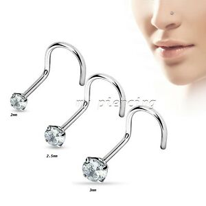 20G-Round-CZ-Prong-Set-316L-Surgical-Steel-Nose-Screw-Nose-Ring-Stud