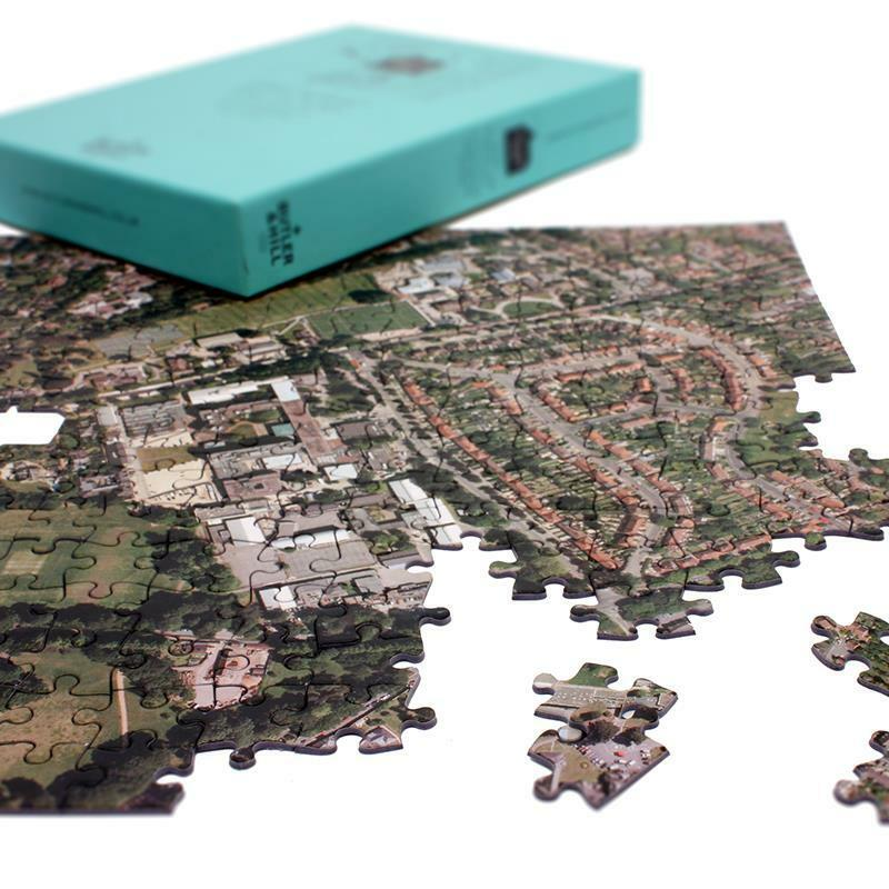 Personalised Aerial Photo Jigsaw Puzzles (400 pieces) - Gift