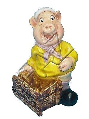 Ehrlichkeit Design Schwein Figur Statue Skulptur Figuren Skulpturen Dekoration Deko C360 Neu SchüTtelfrost Und Schmerzen