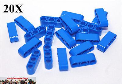 20x Lego ® 32523 Tecnologia Spessore Lift Braccia Beams 1x3 Blu Blue Nuovo-mostra Il Titolo Originale