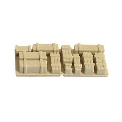 Pack of 2 NR-215 Peco N Gauge Wagon Crates SR Furniture Removals