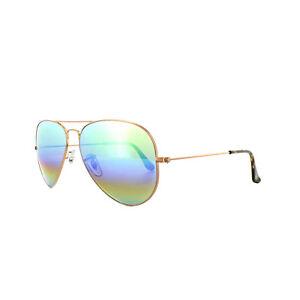 4f02cd14e9 Ray-Ban Sunglasses Aviator Mineral Flash 3025 9018C3 Bronze Copper ...