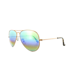 b83352331eeec Ray-Ban Sunglasses Aviator Mineral Flash 3025 9018C3 Bronze Copper ...