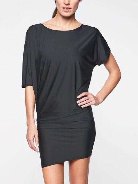 Athleta NWT Women/'s Sunlover Hilo UPF Dress Size Med Color Black