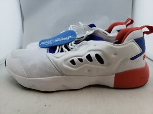 1113528aaee Reebok Furylite ll White Royal Red Running Shoe s Men s US 9 (F)