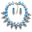 Fashion-Elegant-Women-Bib-Crystal-Pendant-Statement-Chain-Chunky-Choker-Necklace thumbnail 74