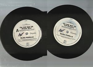 ELISA-FIORILLO-ON-THE-WAY-UP-1990-PAISLY-PARK-7-034-x45rpm-CHRYSALIS-RECORD-NMC