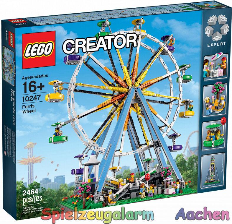 LEGO 10247 CREATOR EXKLUSIV Riesenrad Ferris Wheel La grande roue Rueda de la Fo