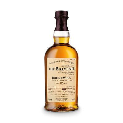 THE BALVENIE BALVENIE DOUBLE WOOD 12 JAHRE 40%, SINGLE MALT SCOTCH WHISKY 0,7 L