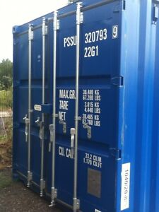 20 ft Long 8 ft Wide Blue 20 ft Storage Sea Container - Store