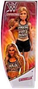 WWE-Superstars-Carmella-Bambola-28cm-Doll-Wrestling-Mattel