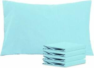 NTBAY Queen Pillowcases Set of 4, 100% Brushed Microfiber, Soft and Cozy, Wrinkl