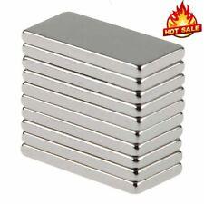 1 50pcs N50 Block Magnet 20x10x2mm Strong Square Neodymium Rare Earth Magnet