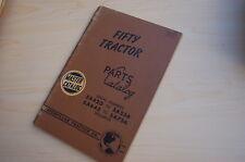 Caterpillar Fifty Tractor Crawler Dozer Parts Manual Book Catalog Vintage 50 5a