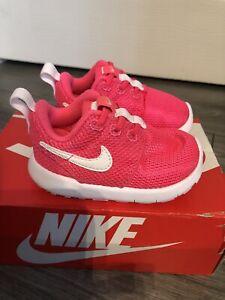 BNWT Nike Baby Girl Pink Trainers Uk