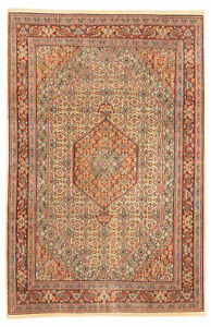Hand-knotted-Carpet-7-039-9-034-x-12-039-0-034-Royal-Mahal-Traditional-Wool-Rug