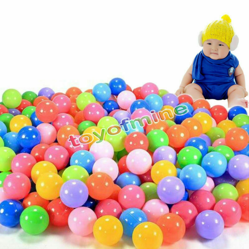 5.5cm 1200 Phthalate Free BPA BPA BPA Free Crush Proof Soft Plastic colorful Ocean Balls 0cb8c9